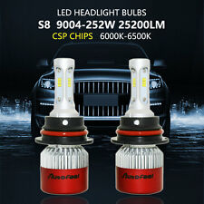 9004 HB1 252W 25200LM OSRAM LED Headlight Kit  Hi/Low Beam 6000K White Bulbs