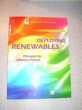 DEPLOYING RENEWABLES Effective Policies OECD 2008 NEW