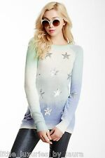 $259 NWT WILDFOX COUTURE WHITE LABEL Star Gazer Stargazer Sweater Medium M