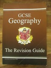 GCSE Geography Revision Guide by CGP Books (Paperback, 1998) Good condition