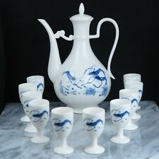 Chinese Traditional White Ceramic Teapots Tea Set - New in original box