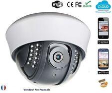 Caméra IP dôme intérieure Wifi Sans Fils Android Iphone Tablette Internet C128