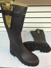 Le Chameau Vierzon Filson Tin Cloth Rubber Boots - Mens Size 11 Med WP MSRP $235