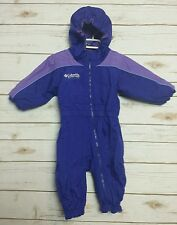 Columbia Kids Jacket Snowsuit 1 Piece Size 18 Months  Girls Ski