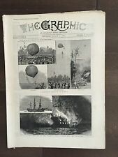 """""""THE GRAPHIC"""" (A Beautifully Illustrated British Weekly Newspaper)-Mar 2, 1889"""