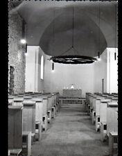 PINET d'URIAGE (38) intérieur de l'EGLISE de SAINT-FERREOL en 1960