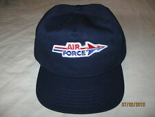 Air Force Vintage Snapback Hat Cap Mens One Size Trucker Navy