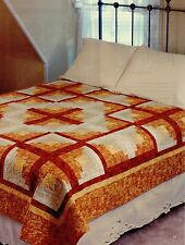 """Crossed Logs      Finished Size -92""""x92""""       Quilt  pattern only"""