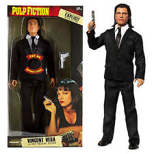"Pulp Fiction Vincent Vega 12"" inch 1:6 Scale Talking Action Figure John Travolta"