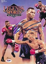Mike Tyson Signed Legends Sports Magazine Autograph Auto PSA/DNA Z10654