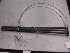 "3 groundhog Snares  36""x 1/16 & 3 18"" long 3/8 stakes (trapping,traps,snares)"