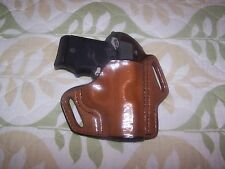 Sig Sauer P238 or P938 Belt Scabbard Leather Holster -  Tan   - RH