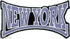 "New York Embroidered Patch 8cm x 4.5cm (3"" x 1 3/4"")"