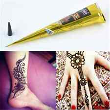 1PC Natural Herbal Henna Cones Temporary Tattoo kit Body Art Paint Mehandi Ink