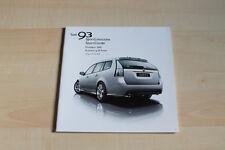 95163) Saab 9-3 + Combi - Preise & technische Daten & Ausstattungen - Prospekt 0