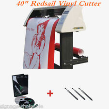 """High Quality 40"""" Redsail Vinyl Sign Cutter with Contour Cut Function"""