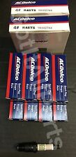 NEW AC Delco R45TS / 19157995 ACDelco Spark Plug Box Set of 8