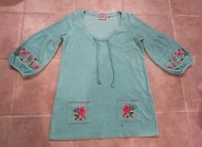 Juicy Couture Teal Swim Beach Pool Bathing Suit Cover Up Terry Cloth Size L