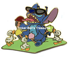DISNEY AUCTIONS Pin LE 100 - Stitch Summer - Ice Cream - with Ducklings