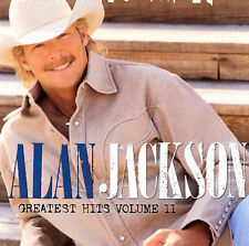 Greatest Hits, Vol. 2 by Alan Jackson (CD, Aug-2003, 2 Disc- Disc Only Free Ship