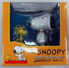 PEANUTS SNOOPY & WOODSTOCK VCD FIGURE CHARLIE BROWN VINYL COLLECTIBLE DOLL