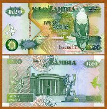 Zambia, 20 Kwacha, 1992, P-36 (36a) UNC   Eagle