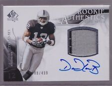 2009 UD SP Authentic Darrius Heyward-Bey Auto 2 Color Patch Rc Srl # to 499