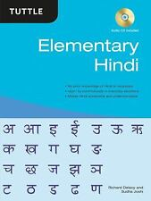 Elementary Hindi by Richard Delacy and Sudha Joshi (2009, Hardcover)