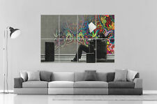 RASTA MAN TRIPPY  Wall Art Poster Grand format A0 Large Print