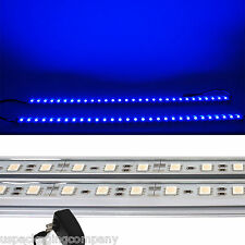 2x 20 inch LED Kitchen Under Cabinet Light Strips Strip Bars Kit Blue 120V