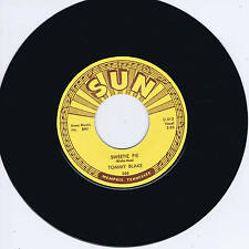 TOMMY BLAKE - I DIG YOU BABY / SWEETIE PIE (Killer SUN label ROCKABILLY Twinspin