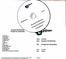 SIOUXSIE & THE BANSHEES Through The Looking Glass 14-track studio reference CD-R