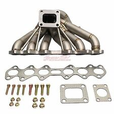 REV9 HP-Series Equal Length T4 Turbo Manifold Type-2 For Toyota Supra 2JZGTE