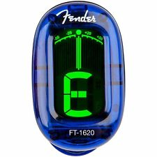 Fender FT-1620 California  Chromatic Clip On Guitar Bass Tuner Lake Placid Blue