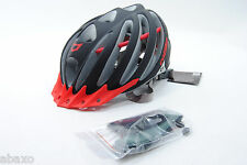 Catlike Vacuum Bicycle Helmet Black Matte/Red Large