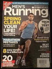 """Men's Running Magazine """"Spring Clean Your Life!"""" April 2014"""