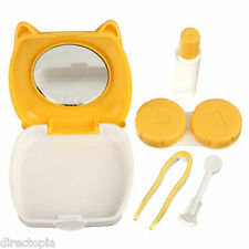 Cute Pig Mini Contact Lens Storage Set Travel Kit Lenses Holder Soaking Case Box