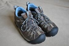 Keen Women's Keen.Dry Waterproof Leather Hiking Shoes / Size 8US / Brown & Blue