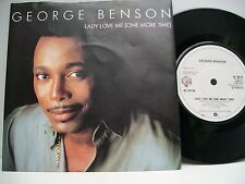 "7"" VINYL SINGLE. Lady Love Me (One More Time) by George Benson. 1983. W 9614."