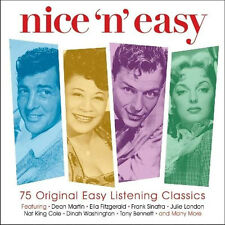 Nice'N'Easy VARIOUS ARTISTS 75 Easy Listening Classics BEST MUSIC New 3 CD