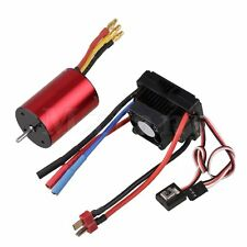 RC1/10 On-road Car Metal N10049 45A 3215KV Brushless ESC With 540 Motor Red