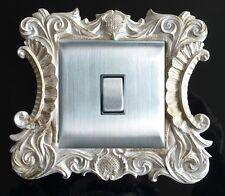 L'égypte ancienne résine simple interrupteur de lumière surround socket doigt plaque panneau housse L43