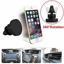 360 ° in auto magnetico Air Vent Mount Holder per iPhone 7 PLUS 7 6s PLUS 6 5c iPod