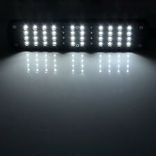 48 LED Aquarium Fish Plant 2 Mode Clip White &Blue Light Bulb Lamp Adjustable #W
