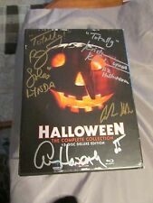 Halloween Complete 15 Disc Deluxe Blu Ray Box Set SIGNED 2X by 19 Cast & Crew