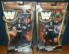 WWE MATTEL ELITE LEGENDS ANIMAL HAWK   RARE ROAD WARRIORS SET LOD L@@K!