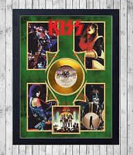KISS LOVE GUN CUADRO CON GOLD O PLATINUM CD EDICION LIMITADA. FRAMED