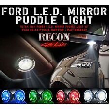RECON 264242RD Puddle 09-14 F150 Raptor Red Mirror Light LED Kit