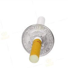 Zauber Trick Zigarette Durch Münze Gehen