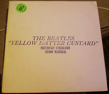 "The Beatles ""Yellow Matter Custard"" TMOQ Green Vinyl MINT!"